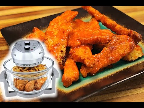 Air Fryed Buffalo chicken tenders
