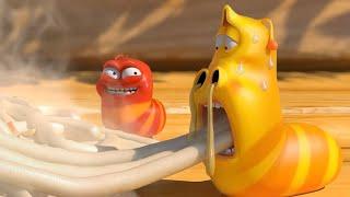 LARVA   FIDEOS PICANTES   2018 Película Completa   Dibujos animados para niños   WildBrain