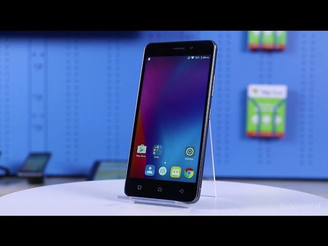 Belsimpel-productvideo voor de Lenovo K6 Dual Sim Gold