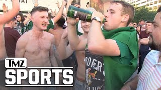 McGregor Fans Cause Chaos in Las Vegas After Weigh-In  | TMZ Sports