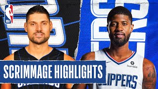 MAGIC at CLIPPERS | SCRIMMAGE HIGHLIGHTS | July 22, 2020