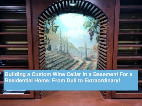 Coastal Presents: Building a Stunning Custom Wine Cellar in a Basement for a Residential Home