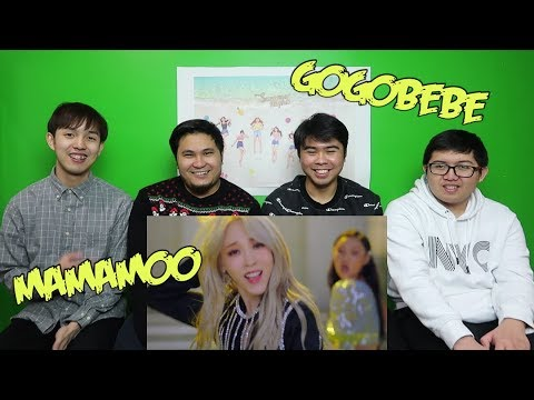 MAMAMOO - gogobebe MV REACTION (FUNNY FANBOYS)