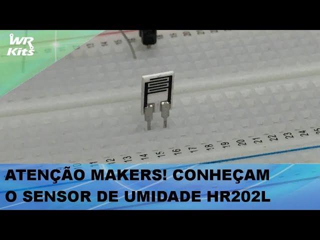 AOS MAKERS: CONHEÇA O SENSOR DE UMIDADE HR202L PARA PROJETOS COM ARDUINO E ESP32!