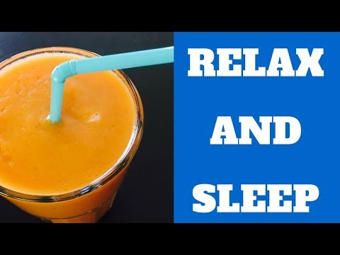 Healthy Smoothie LOWERS anxiety and Helps you SLEEP BETTER | Natural Remedies For Insomnia