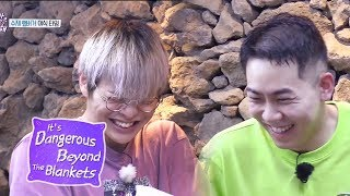Kang Daniel And Loco Make Pork Cutlet Together!  [It's Dangerous Beyond The Blankets Ep 4]
