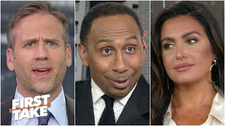 """Stephen A. tries to get Giants fans Max & Molly to face reality: """"It's OVER!' 