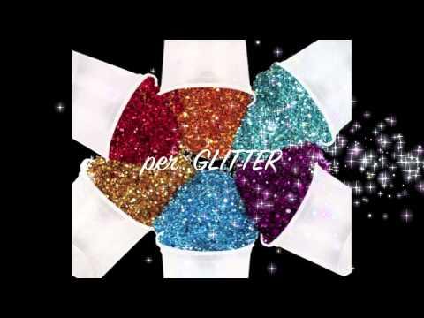 Packaging per glitter, paillettes, decorazioni e altro