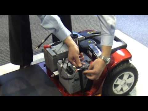 How To Change Mobility Scooter Batteries Youtube
