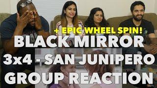 React Wheel: Black Mirror - 3x4 San Junipero - Group Reaction + Wheel spin!