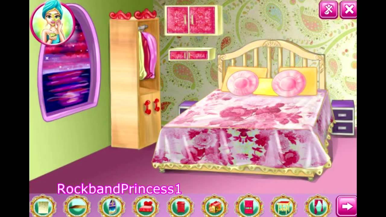 barbie decoration games house decoration game barbie decorating room game youtube. Black Bedroom Furniture Sets. Home Design Ideas