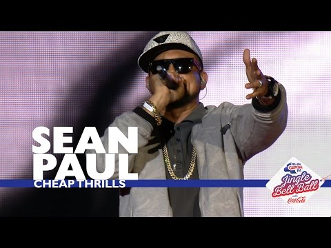 Sean Paul - 'Cheap Thrills' (Live At Capital's Jingle Bell Ball 2016)
