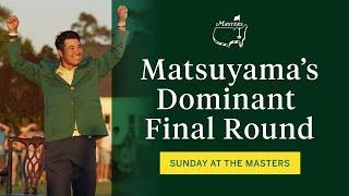 Matsuyama A Masters Champion   The Masters