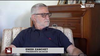 Sintonia do Leite conversa com o novo Presidente da ACCB - Sr. Enedi Zanchet