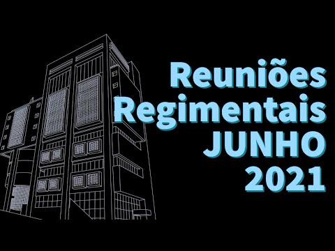 Reuniões Regimentais - JUNHO 2021