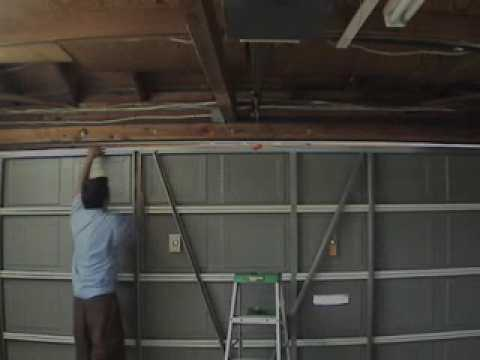 Garage Door Repair San Diego Strut Replacement Youtube