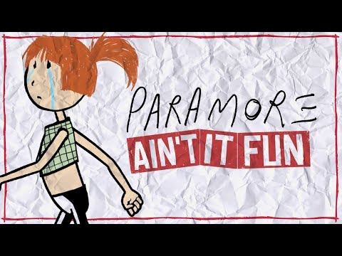 Paramore - Ain't It Fun (Lyric Video)