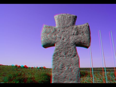 German Military Cemetery in 3D (Kharkov) !3D Photo (EXCLUSIVE)