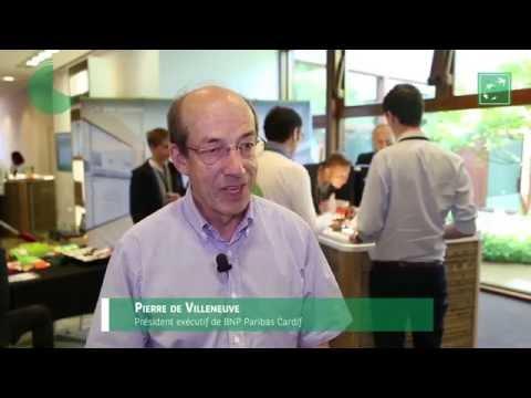 Pierre de Villeneuve partage vision d'un assureur tourné vers le futur