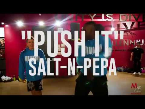 Salt N Pepa -  Push It  -Choreo  Janelle Ginestra & @WilldaBeast__