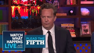 """Which 'Friends' Costar Did Matthew Perry Sleep With?"" 