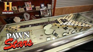 Pawn Stars: Custom Made Karl Sandoval Flying V Guitar (Season 16) | History