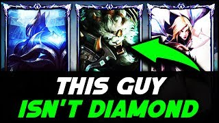 Gold Rengar goes into Diamond then SOLO CARRIES!! Do They Deserve it? - League of Legends