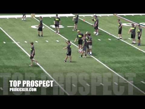 Cody Thomas, Kickoffs, Ray Guy Prokicker.com Top Prospect Camp 2016