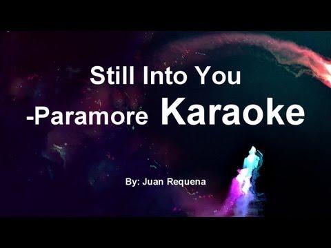 Im into you paramore acoustic karaoke oughta