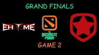 EHOME vs Gambit Esports GRAND FINALS Game 2 Highlights - The Bucharest Minor