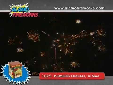 1829 Plumber's Crackle - Alamo Fireworks