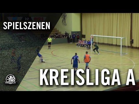FC Arminia Tegel - SC Union 06 II (Hallenturnier der Kreisliga A, Vorrunde, Gruppe 3) - Spielszenen | SPREEKICK.TV