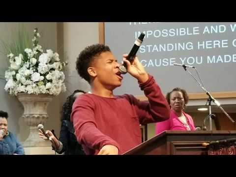 Caleb Carroll 15 yrs old sings