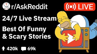 🔴 AskReddit Reddit Stories - 24/7 Live Stream - Funny & Scary Stories to relax/study to