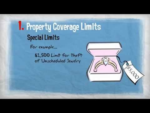 Insurance 101 - Homeowners Limits