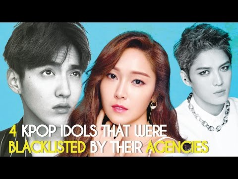 4 Kpop Idols That Were Blacklisted By Their Agencies