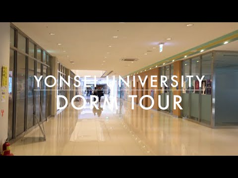 YONSEI UNIVERSITY DORM TOUR