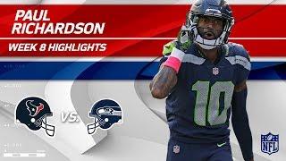Paul Richardson's 105 Yards & 2 TDs vs. Houston! | Texans vs. Seahawks | Wk 8 Player Highlights