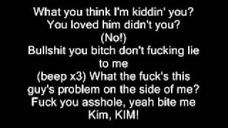 Eminem kim lyrics
