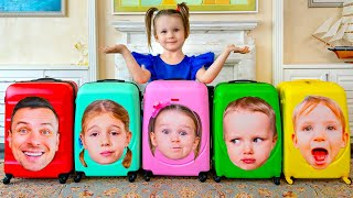 Five Kids Moving Song + more Children's Songs and Videos