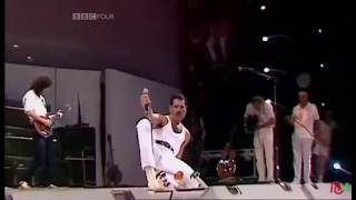 The Story Of Queen in Live Aid 1985