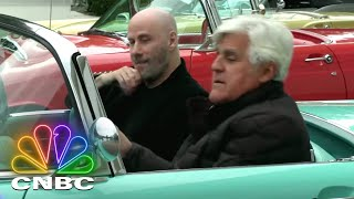 Jay Leno's Garage: Jay And John Travolta Take A 1955 Ford Thunderbird For A Cruise | CNBC Prime