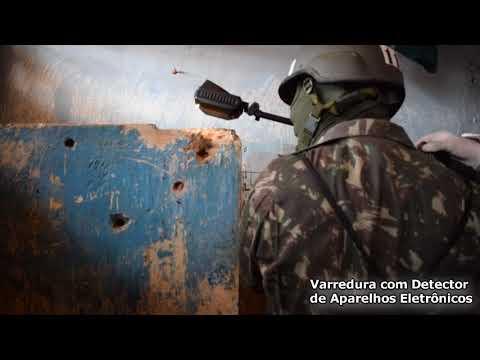 Operação Príncipe da Beira no Presidio Agenor Martins de Carvalho, em Ji-Paraná-RO