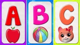 canción fonética del abecedario   Canciones infantiles en Español   educación para niños   Phonics