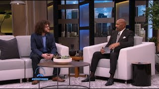 MyHeritage Uncovers a Musical Legend's History on the Steve Harvey Show
