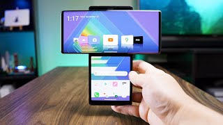 Swiveling LG Wing is LG's craziest phone yet