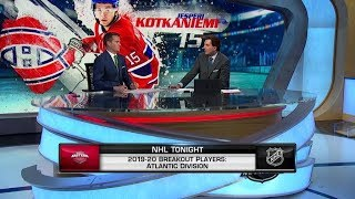 NHL Tonight: Atlantic Breakouts: Potential breakout players from the Atlantic Division  Sep 6,  2019