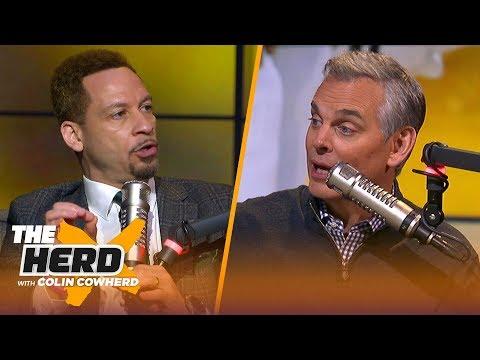 Chris Broussard: Bucks 'have to go through growing pains,' talks KD & Kawhi FA | NBA | THE HERD