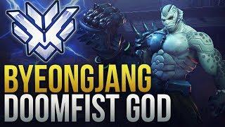 ByeongJang -  THE #1 KOREAN DOOMFIST - Overwatch Montage