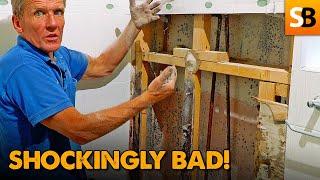 Leaking Shower Horror Show - Cowboy Plumbing